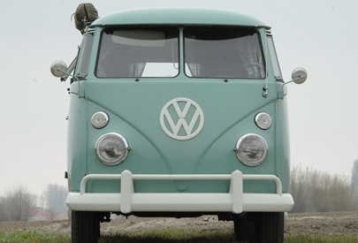 1963 CAMPMOBILE CAMPER TURQUOISE